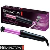 Remington Anywhere Curls Retracting Barrel Styler