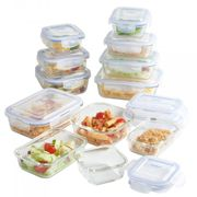 VONSHEF 12PC GLASS CONTAINER STORAGE SET Free Delivery