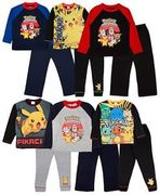 Boys Pokemon Go Pyjamas Full Length Pikachu 2 Piece