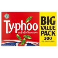 Typhoo 300 Foil Fresh Teabags 937.5g