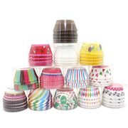 100pcs Baking Paper Cases Cupcake Wrappers - Free UK Del