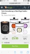 Parks' Aromatherapy or Black Magic Candles - 8 Scents