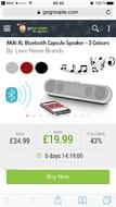 AKAI XL Bluetooth Capsule Speaker - 3 Colours