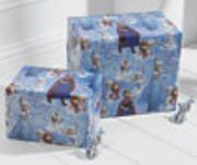 Frozen gift wrap + tag