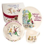 Charlie and the Chocolate Factory: Melamine Breakfast Set
