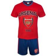 Arsenal FC Mens Short Pyjamas