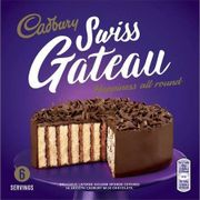 Cadbury Swiss Gateau 340g 6 Servings