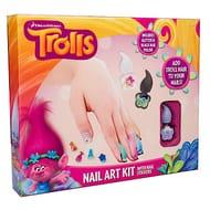 Trolls nail art kit