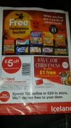 £5 off a £30 spend at Iceland (voucher needed) - Instore