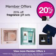 Members Only! Save 20% on selected Fragrance Gift Sets