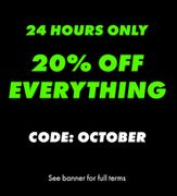 ASOS 20% Off Everything for 24 Hours Only
