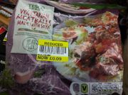 Tesco Frozen Meat Free Meat Style Balls 400G for 9p