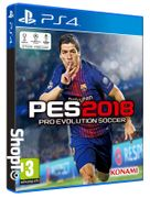 PES 2018: Pro Evolution Soccer PS4 - £29.86! ALMOST HALF PRICE