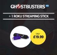Ghostbusters HD Movie + Roku Streaming Stick