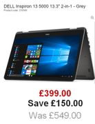 "SUPER DEAL at THIS PRICE! DELL Inspiron 13 5000 13.3"" 2-in-1"