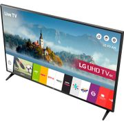 "LG 49"" Freeview HD and Freesat HD and 4K Ultra HD with HDR TV - Black"