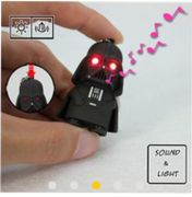 Darth Vader Key Chain with Light and Sound