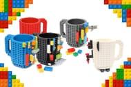 Lego-Compatible Build-on Brick Mug - 4 Colours!