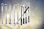 10pc Harry Potter-Inspired Wand Makeup Set