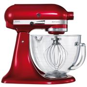 KitchenAid Artisan 4.8L Tilt-Head Stand Mixer - Candy Apple Red Free Delivery