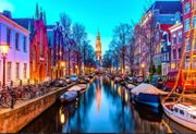 2 Flights to Amsterdam. 5 Star Hotel and £300 for Shopping