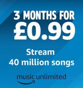 3 Months of Amazon Music for 99p