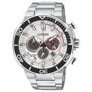 Citizen Men's Eco-Drive Chronograph Date Bracelet Strap Watch,