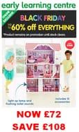 Wow! Luxury Manor Dolls House. Mega 60% off Black Friday Saving!