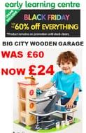 BLACK FRIDAY BARGAIN! Big City Wooden Garage NOW ONLY £24 Delivered!