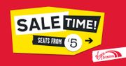 SALE TIME! Virgin Train Tickets from £5