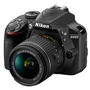 Nikon D3400 Digital SLR with 18-55mm Lens + Freebies £354 with Code
