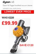 Dyson v6 LOWEST EVER PRICE + FREE UK DELIVERY