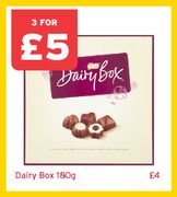 Three Chocolate Boxes for £5