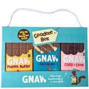 Gnaw Fair Trade Chocolate-Pick Me up Box - 300g from Ethical Superstore