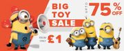 Knock down Deals on Toys and Games