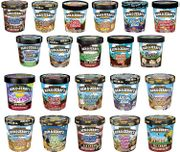 9 Flavours of Ben & Jerry's 500 Ml Ice Cream at Asda