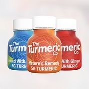 Turmeric Shots with Black Pepper - Immune System Boost (Box of 12)