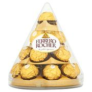 Ferrero Rocher Christmas Cone, 17 Pieces, 212 G (Pack of 4)