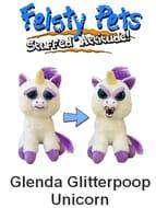Feisty Pets UNICORN - Glenda Glitterpoop. SELLING FAST