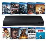 Samsung BD-J5500 Blu-Ray Player + 10 Blu-Rays (Limited Edition FREE UK DELIVERY