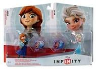 Disney Infinity 1.0 Frozen Anna & Elsa Toy Box Set Free P&P Argos Outlet eBay