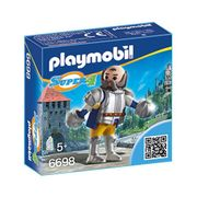 Playmobil 6698 Super 4 Kingsland Crusher at Amazon