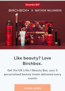 First Birchbox HALF Price!