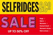 Don't Miss the SELFRIDGES SALE - up to 50% OFF! Handbags...Shoes...