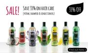 Faith in Nature - 33% off 400ml Shampoo and Conditioner