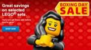 LEGO Shop Boxing Day Sale Now on - Includes Star Wars, LEGO Friends Etc