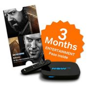 NOW TV Box with Freeview and 3 Month Entertainment Pass