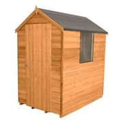 6'x4' (1.8x1.2m) Shed-plus Overlap Apex Shed