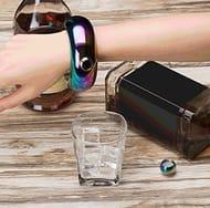 3.5oz Stainless Steel Jug Bracelet, Creative Ring Bracelet Alcohol Hip Flask