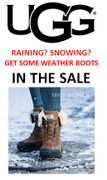 Wet Weather? Snow? Get some Weatherproof UGG Snowboots in the UGG SALE